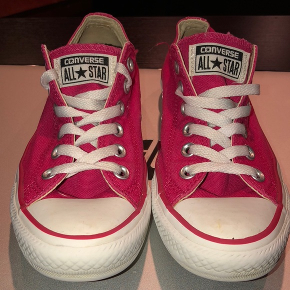 Converse Other - Hot Pink Converse All Stars 4-1 2 75db3d7db